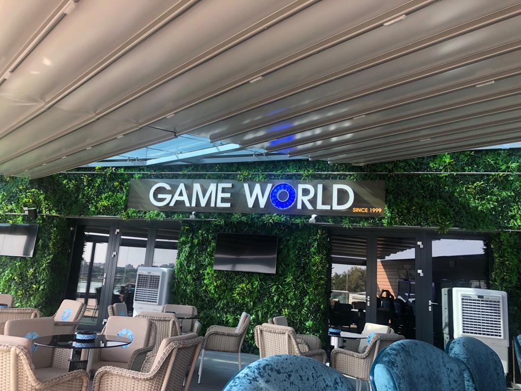 Pergola terasa Game World