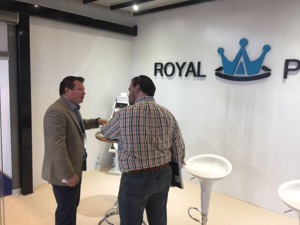 Royal Pergola la Expozitia Construct Expo 23-26 martie 2017