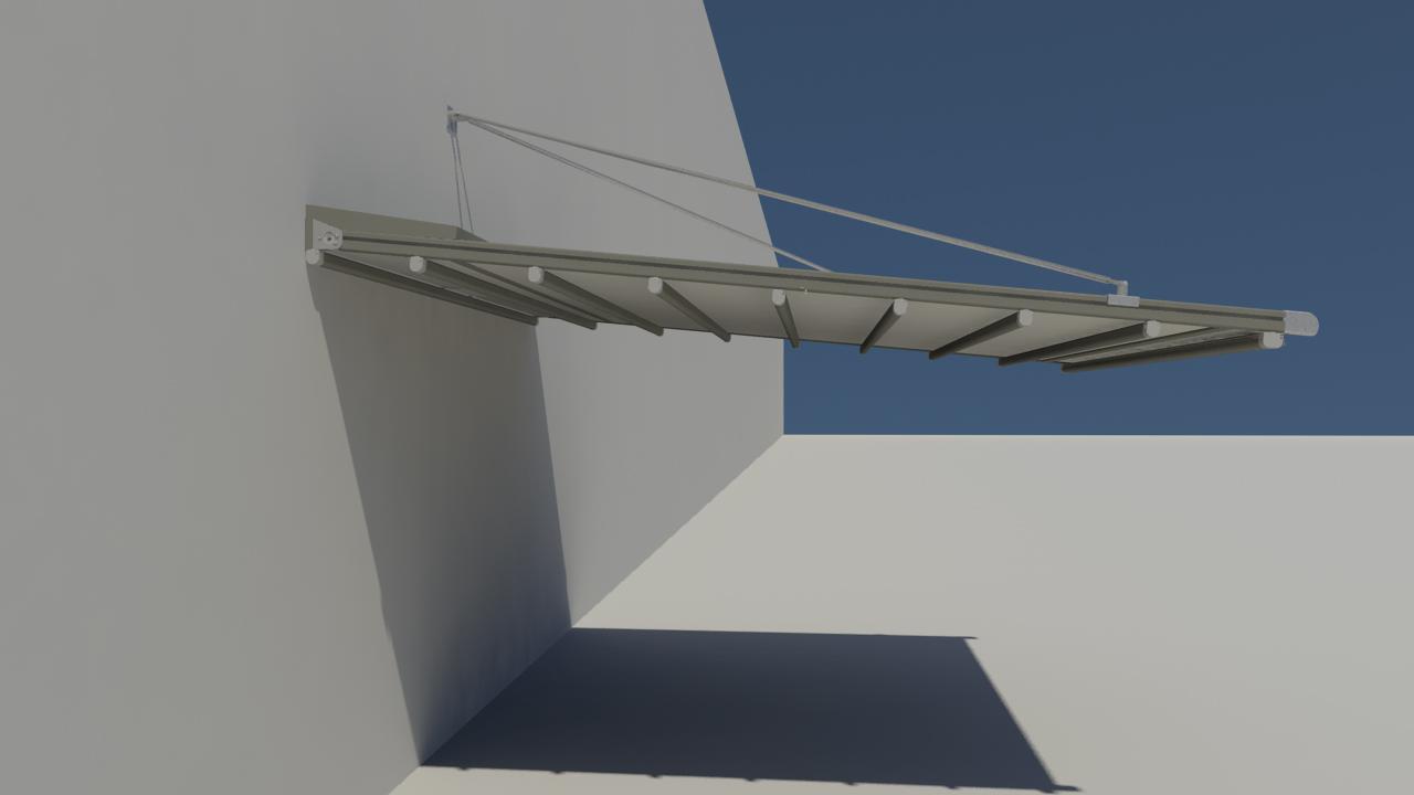 Pergola retractabila - Nyfan Sky Bridge